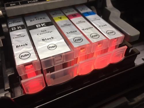 IP4500   オレンジランプ15回
