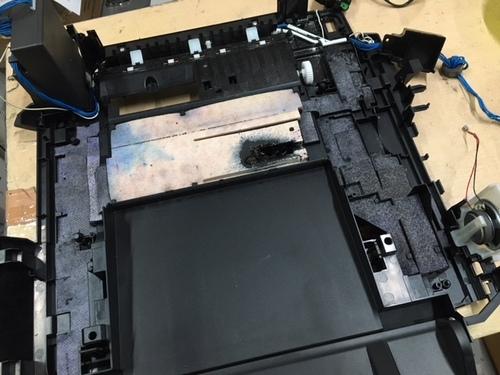 MX883 インク吸収体フル表示