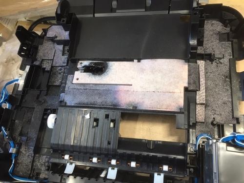 MG6130   インク吸収体満杯