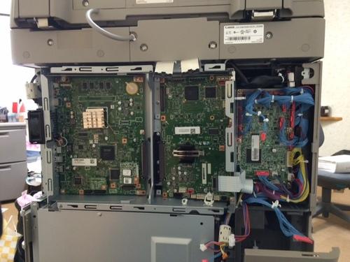 ADV2220F 電源ランプのみ点灯
