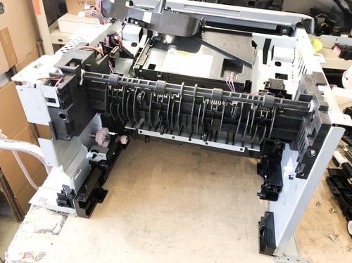 LBP3410  白紙出力