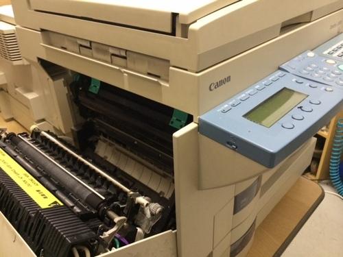 キャノファクス L2800 給紙エラー